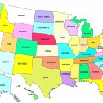 Printable Map Of Us Time Zones Usa Time Zone Map Lovely United With Regard To Us Time Zones Map With States Printable