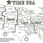Printable Map Of Us Time Zones Usa Time Zone Map New Printable Regarding Printable Time Zone Map