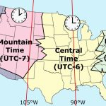 Printable Map Of Us Time Zones Zone Florida United States Pertaining To Printable Usa Time Zone Map
