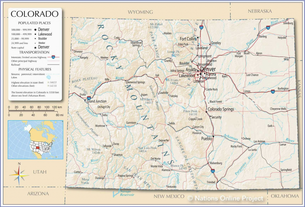 Printable Map Of Us With Major Cities New Denver County Map throughout Denver City Map Printable