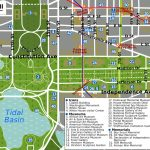Printable Map Washington Dc | National Mall Map   Washington Dc With Regard To Printable Map Of Dc Monuments