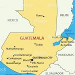 Printable Maps Guatemala Map With Capital 10 Guatemala Map With Inside Printable Map Of Guatemala