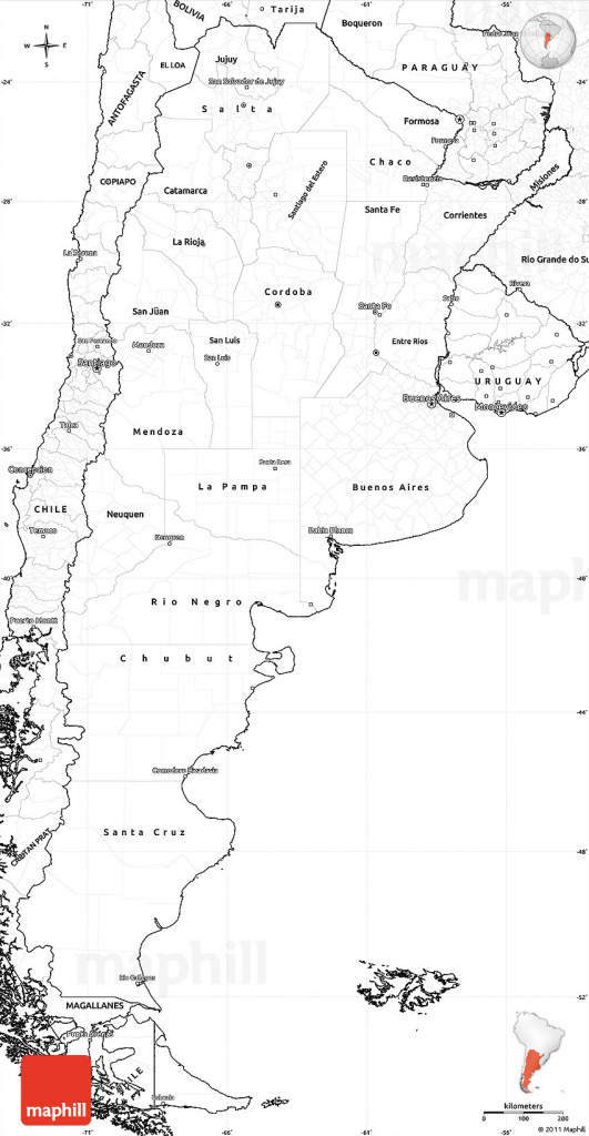Printable Maps Of Argentina And Travel Information | Download Free with regard to Printable Map Of Argentina