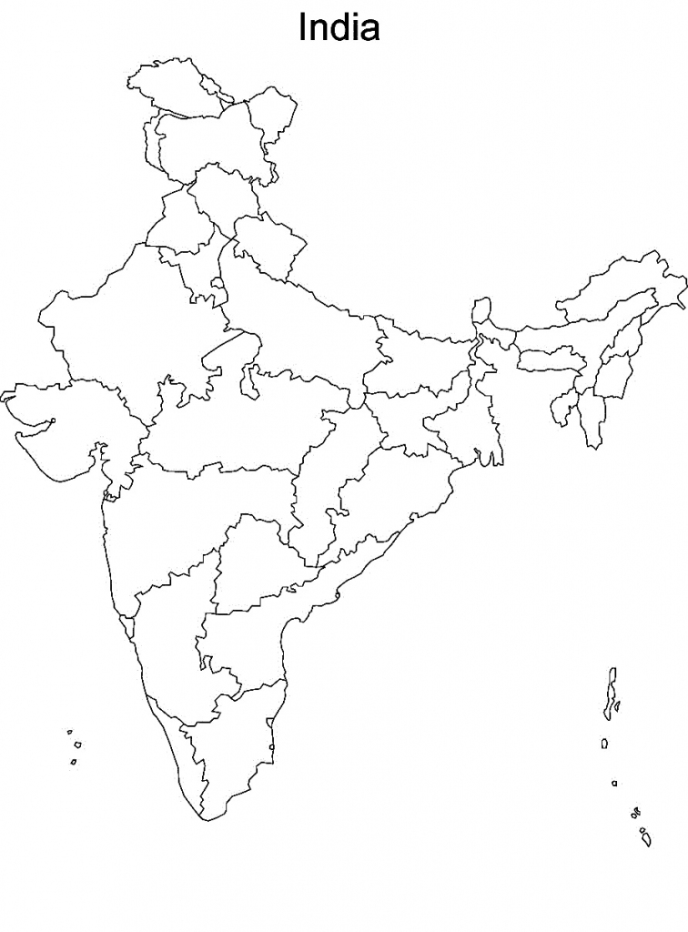 Printable Maps Of India And Travel Information | Download Free pertaining to Map Of India Blank Printable