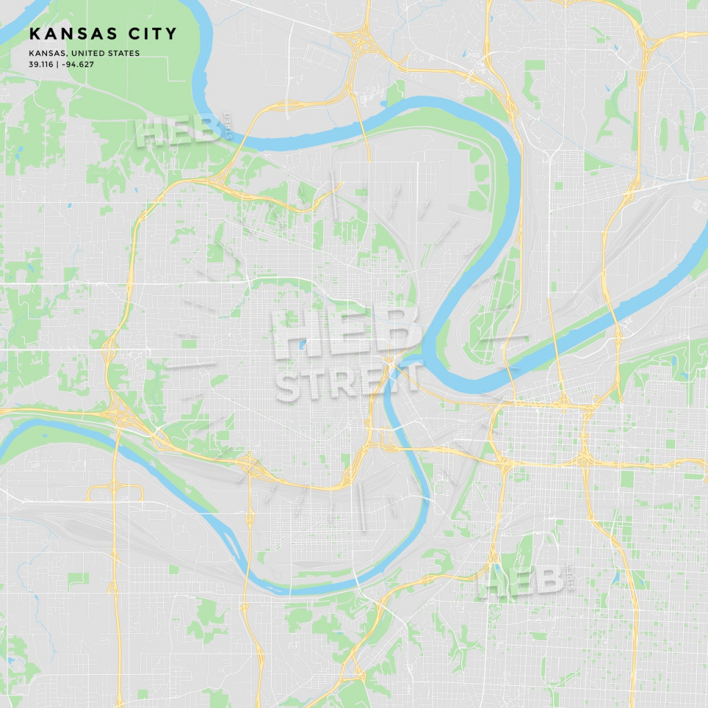Printable Street Map Of Kansas City, Kansas | Hebstreits Sketches throughout Printable Street Map Of Wichita Ks
