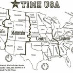 Printable Time Zone Map Us And Canada Best Printable Map Us Canada with regard to Printable Usa Time Zone Map