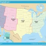 Printable Time Zone Map Us And Canada New Map Timezones In United Inside Canada Time Zone Map Printable