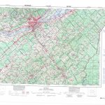 Printable Topographic Map Of Quebec 021L, Qc With Free Printable Topo Maps