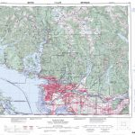 Printable Topographic Map Of Vancouver 092G, Bc With Regard To Free Printable Topo Maps Online