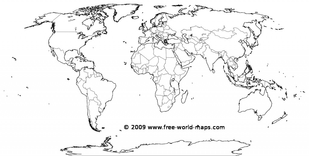 Printable White Transparent Political Blank World Map C3 0 - World within Printable Map Of World Blank
