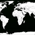 Printable White Transparent Political Blank World Map C3 | Free Pertaining To Free Printable Blank World Map