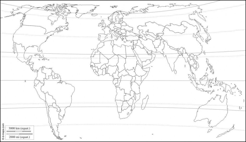 Printable World Maps With Latitude And Longitude And Travel regarding Printable World Map With Latitude And Longitude