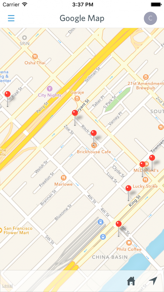 Pro Tip: Use Google Maps To Show Multiple Pins At Once – Guidebook intended for Printable Map With Pins