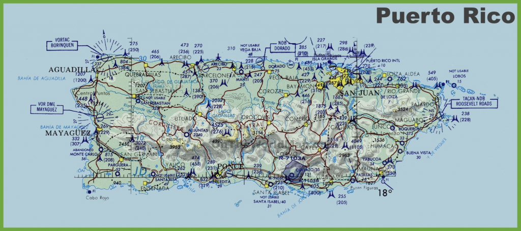 Puerto Rico Maps | Maps Of Puerto Rico - Printable Map Of Puerto for Printable Map Of Puerto Rico