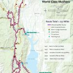 Race For Printable Iditarod Trail Map
