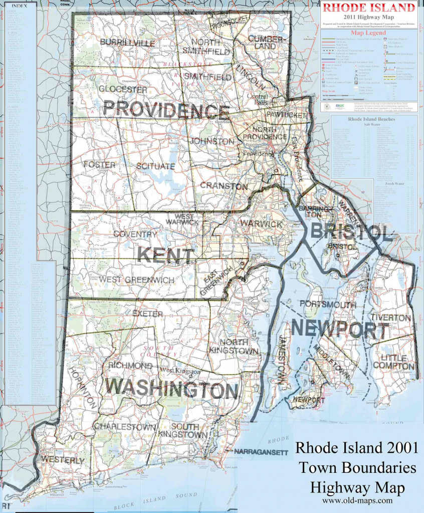 Rhode Island Map Cities And Towns Fresh Ri Of Rhode Island Map pertaining to Printable Map Of Rhode Island