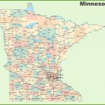 Road Map Of Minnesota With Cities with Printable Map Of Minnesota