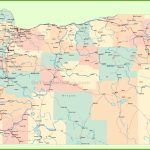 Road Map Of Oregon With Cities Throughout Printable Map Of Oregon