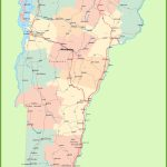 Road Map Of Vermont With Cities Pertaining To Printable Map Of Vermont