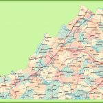 Road Map Of Virginia With Cities Throughout Virginia State Map Printable