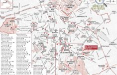 Printable Walking Map Of Rome