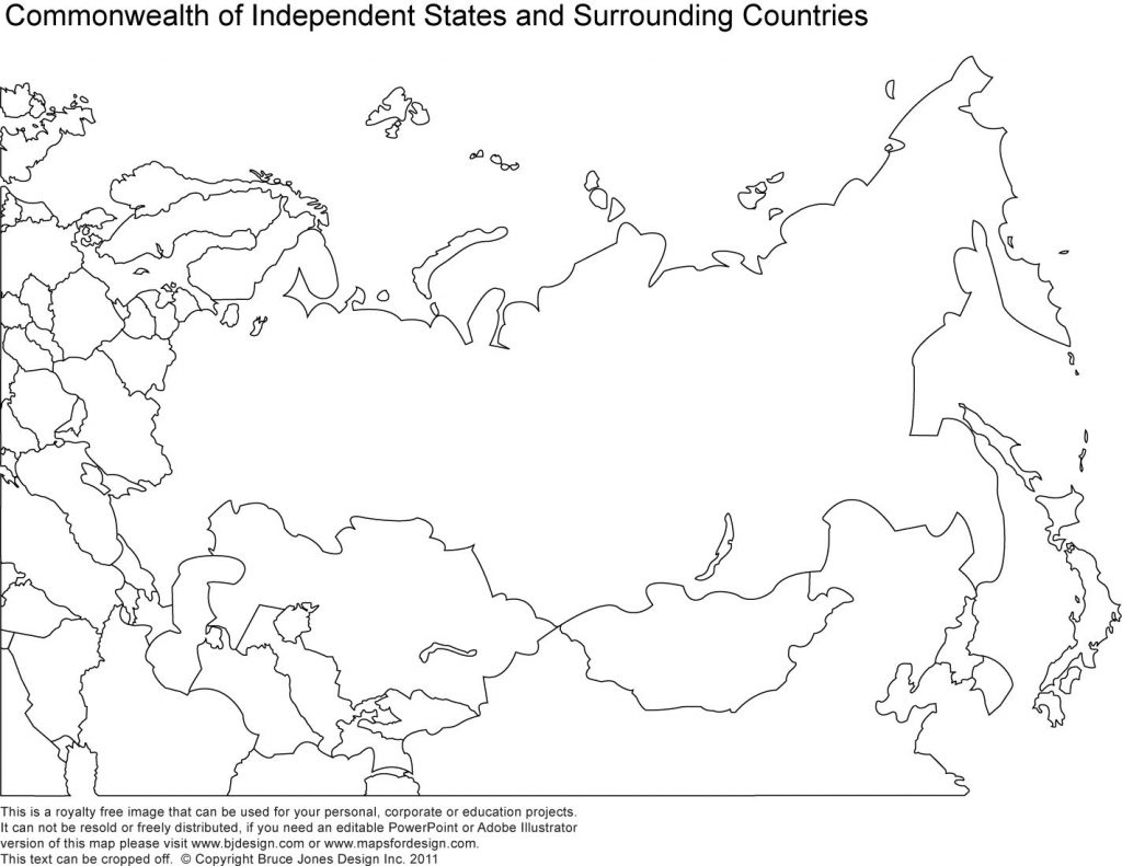 Russia, Asia, Central Asia Printable Blank Maps, Royalty Free   Maps for Free Printable Map Of Russia
