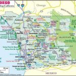 San Diego County Cities Map   Map Of San Diego County Cities Within Printable Map Of San Diego County