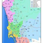San Diego County Zip Code Map   San Diego County Map With Zip Codes Throughout Printable Map Of San Diego County