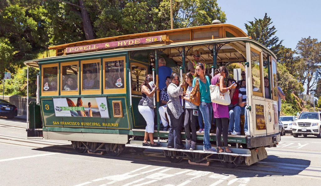 San Francisco's World-Famous Cable Cars - Bay City Guide - San regarding Printable Map San Francisco Cable Car Routes