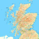 Scotland Road Map Intended For Printable Road Map Of Scotland