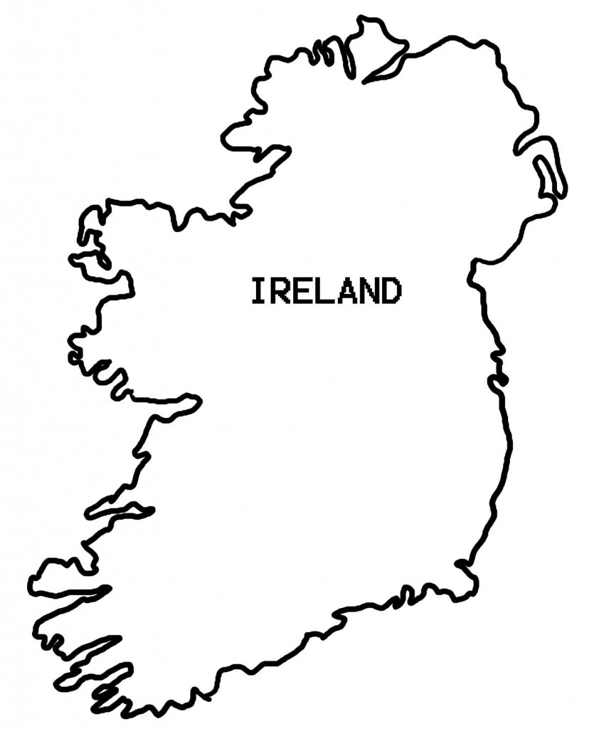 Simple Map Of Ireland - Clipart Best | Countries Crafts And Things with regard to Printable Blank Map Of Ireland