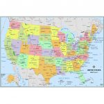 Simple United States Wall Map   The Map Shop Inside Printable Maps By Waterproofpaper Com