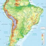South America Physical Map Printable | Globalsupportinitiative Pertaining To Printable Physical Map Of North America