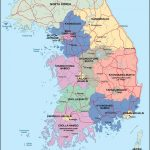 South Korea Maps | Printable Maps Of South Korea For Download With Regard To Printable Map Of Korea