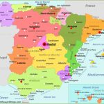 Spain Maps | Maps Of Spain In Printable Map Of Spain