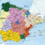 Spain Maps | Printable Maps Of Spain For Download Pertaining To Printable Map Of Spain With Cities