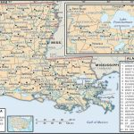 State And Parish Maps Of Louisiana Pertaining To Printable Map Of Lafayette La