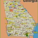 State Map Of California Cities Printable Georgia State Maps Usa Regarding Georgia State Map Printable