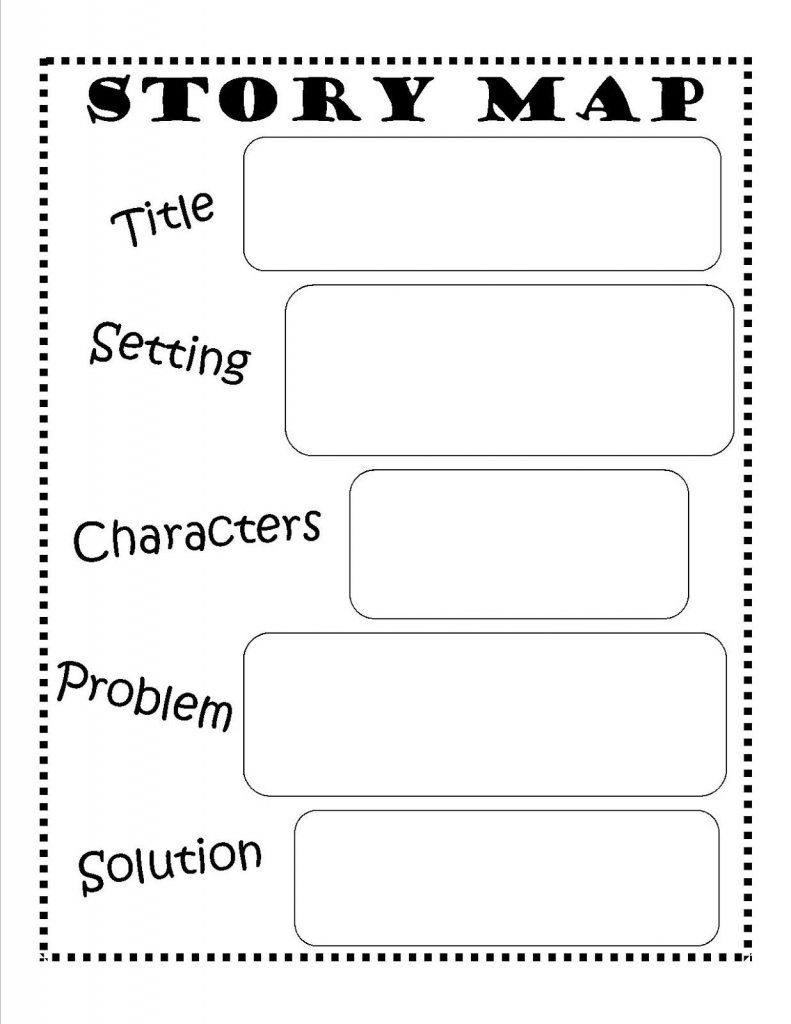 Story Map - Free Printable #reading #writing #kids | Ela | Story Map for Printable Story Map