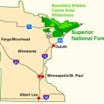 Superior National Forest   Maps & Publications With Regard To Printable Maps By Waterproofpaper Com