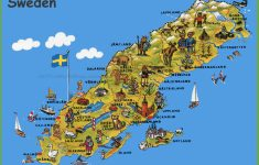 Printable Map Of Sweden