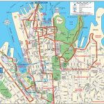 Sydney City Map   Map Of Sydney City (Australia) Inside Sydney City Map Printable