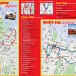 Sydney Maps   Top Tourist Attractions   Free, Printable City Street Map In Sydney Tourist Map Printable