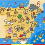 The Best Map Of Spain   Spain Traveller Within Printable Map Of Spain Pdf