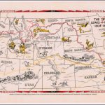 The Trail Of Lewis And Clark 1804   1806   Barry Lawrence Ruderman For Lewis And Clark Expedition Map Printable