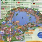Theme Park Brochures Walt Disney World Epcot   Theme Park Brochures In Printable Map Of Epcot 2015
