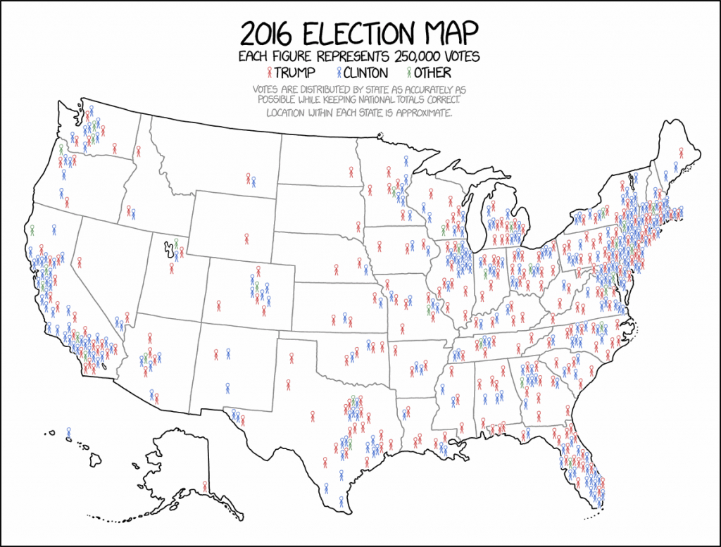 This Might Be The Best Map Of The 2016 Election You Ever See - Vox pertaining to 2016 Printable Electoral Map