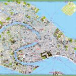 Tourist Map Of Venice City Centre With Regard To Printable Map Of Venice Italy