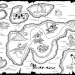 Treasure Map Black And White | Letter X | Pirate Treasure Maps Inside Printable Kids Pirate Treasure Map