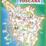 Tuscany Tourist Map With Regard To Printable Map Of Tuscany